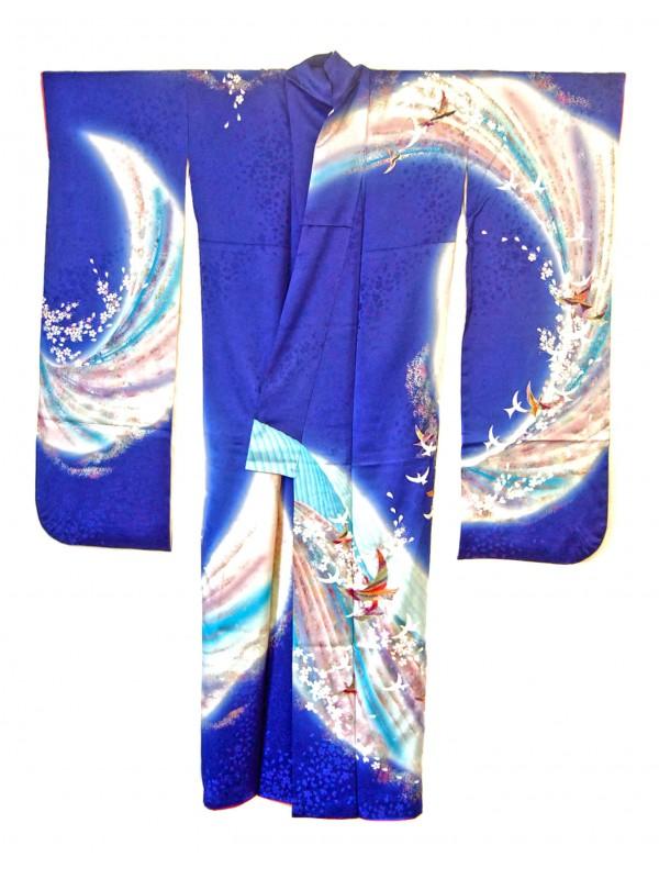 Furisode (yume no tori) kimono giapponese