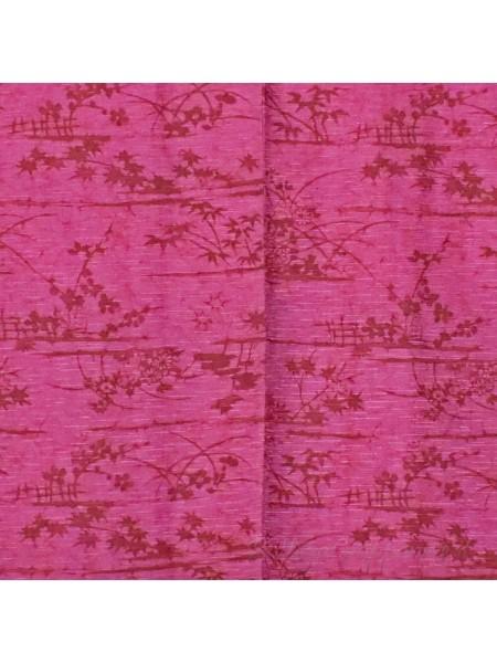 Haori giacca kimono seta colore fuxia