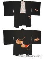 Haori giacca kimono in seta makimono