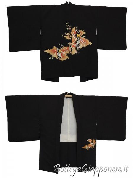 Haori giacca kimono in seta umè