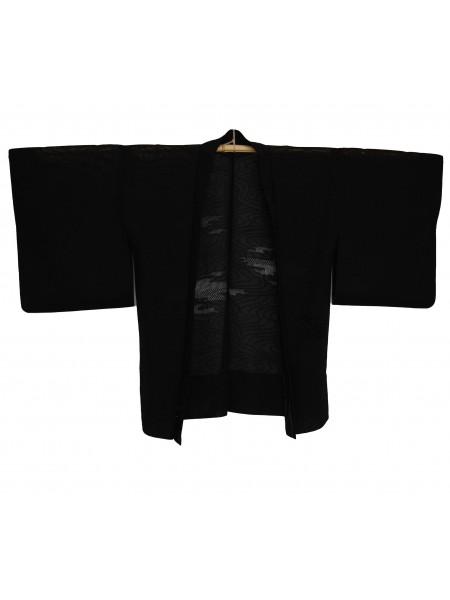 Haori giacca kimono in seta sha pizzo