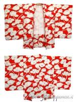 Haori giacca kimono in seta hasu