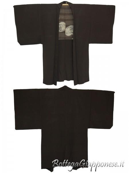 Haori uomo kimono in seta tradizionale