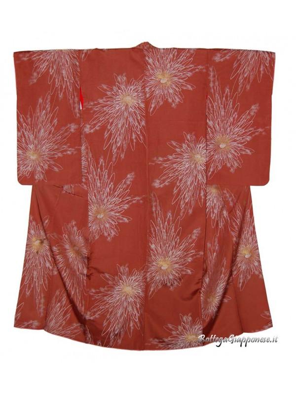 Kimono abito giapponese fiore