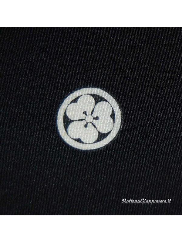 Kurotomesode kimono nero sensu