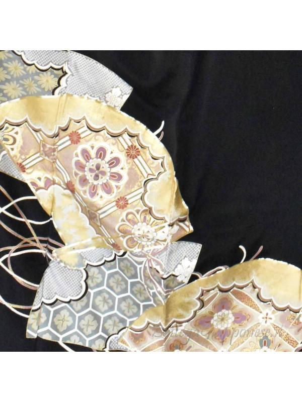 Kurotomesode Kimono sensu