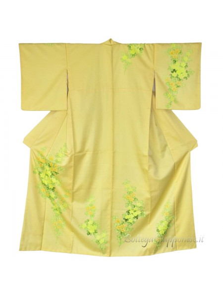 Tsukesage kimono seta bouquet