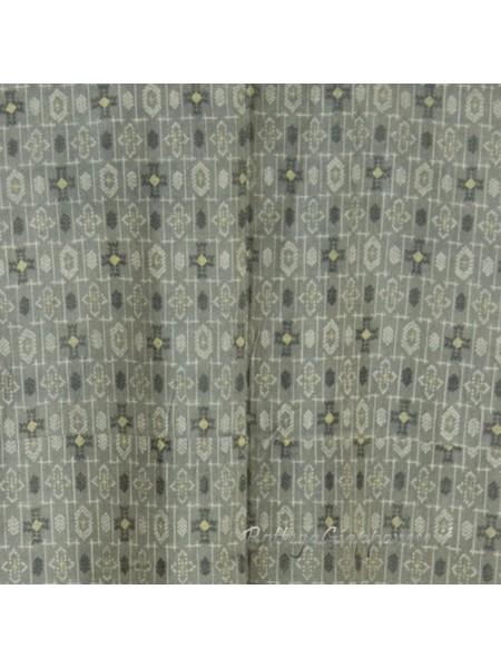 Kimono classico giapponese da uomo grigio
