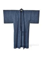 Kimono leggero giapponese tessuto indaco