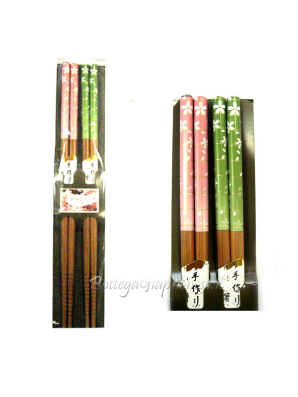 Hashi bacchette ramen coppia sakura