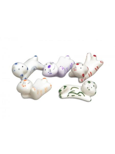 Hashioki gattini 5 poggia bacchette