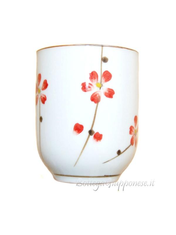 Tazza da tè sakura senza manico