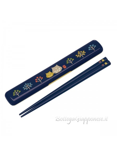 Hashi bacchette con custodia set fukuro
