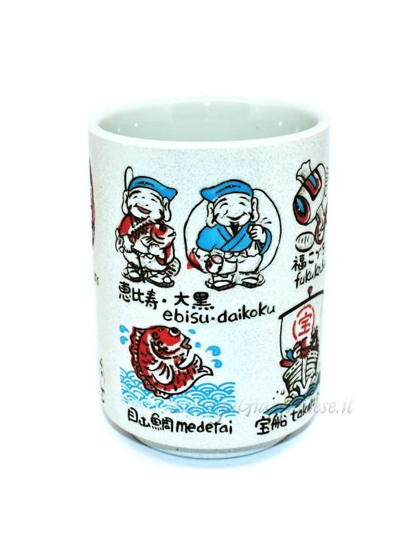 Tazza | Bicchiere per il tè disegni in rilievo neko (3)