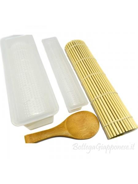 Kit attrezzi per preparare sushi futomaki hosomaki