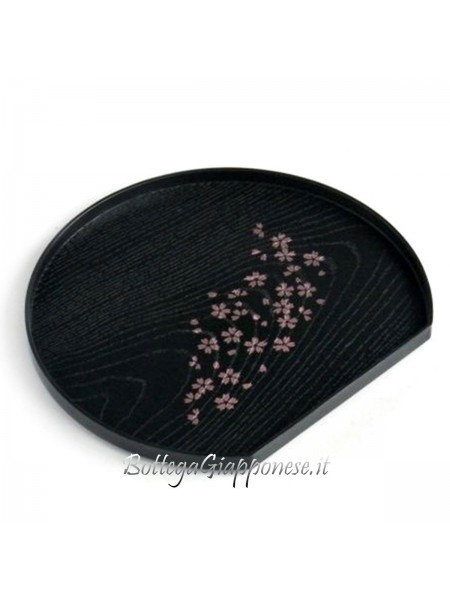 Vassoio effetto legno sakura
