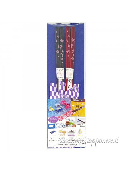 Hashi bacchette origami shiori