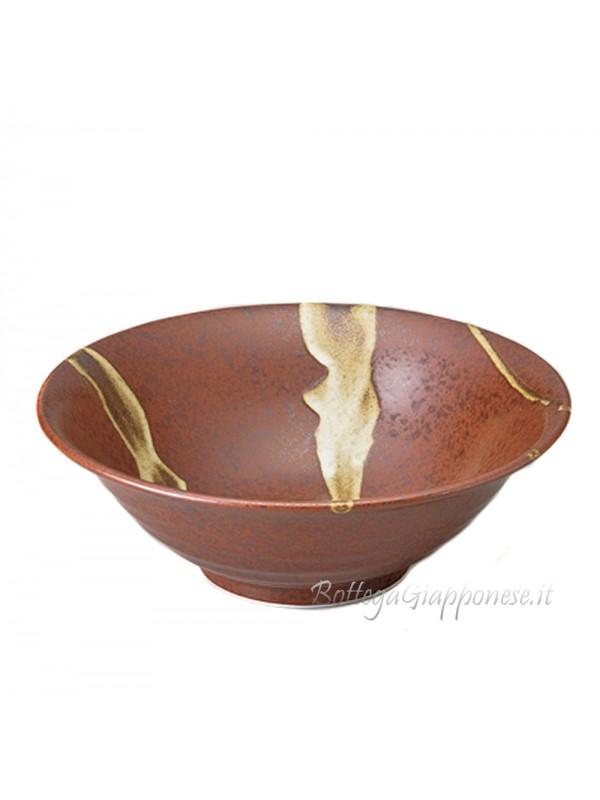 Ciotola per il ramen noodles brown