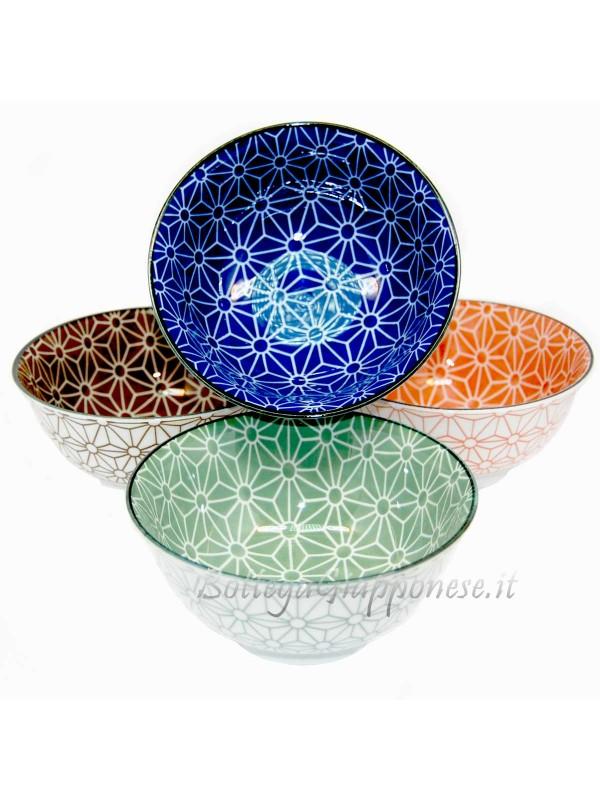 Ciotole asanoha ceramica