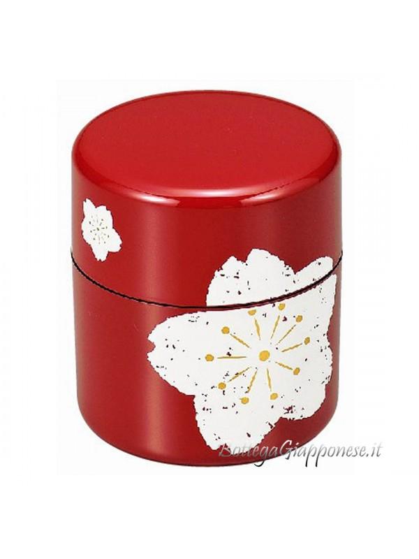 Box contenitore tè sfuso Sakura grande