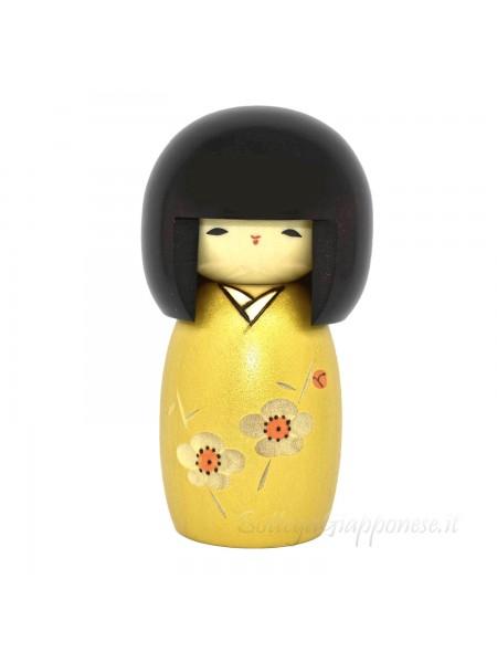 Kokeshi Kaika oro (artigianato giapponese)