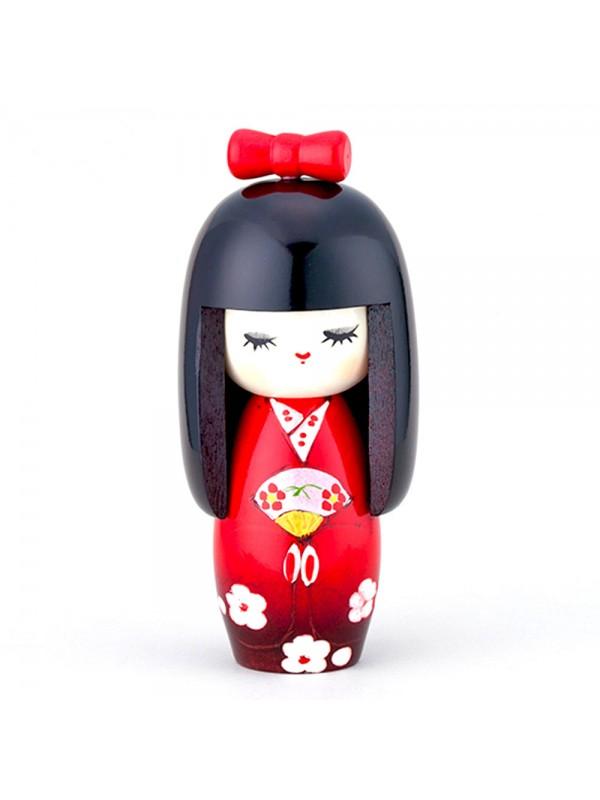 Kokeshi Mai danzatrice artigianale