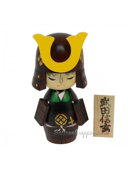 Kokeshi Takeda shingen made in japan
