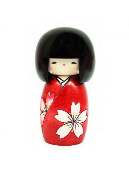Kokeshi Hana wa sakura artigianato