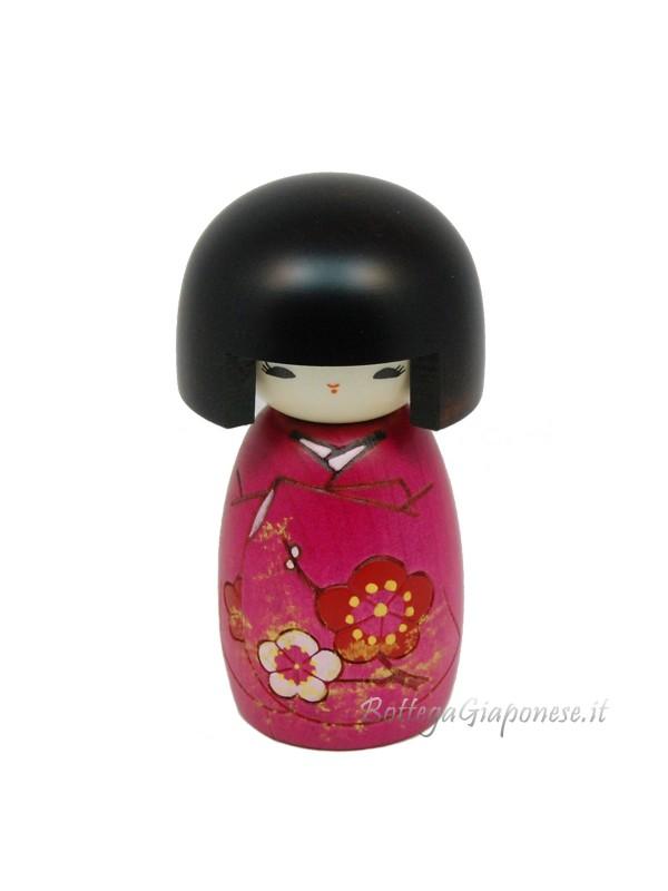 Kokeshi Okappa san doll