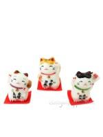 Box fortune da tre Maneki neko kawai