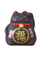 Maneki Neko nero per la protezione