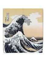 Noren Grande onda tenda giapponese corta