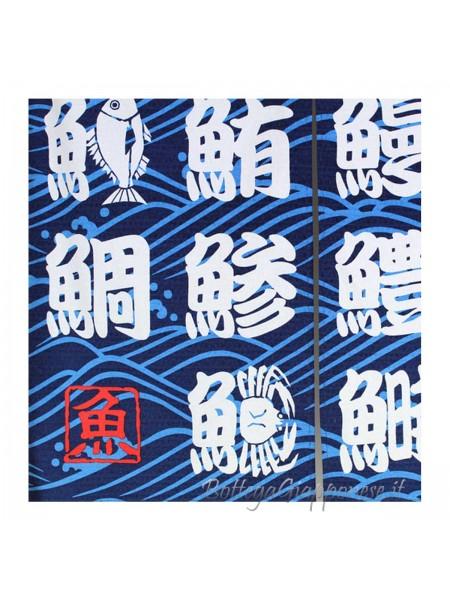 Noren Grande ideogrammi sushi giapponese