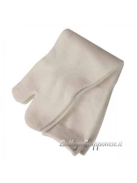 Tabi calze infradito taglia unica bianco