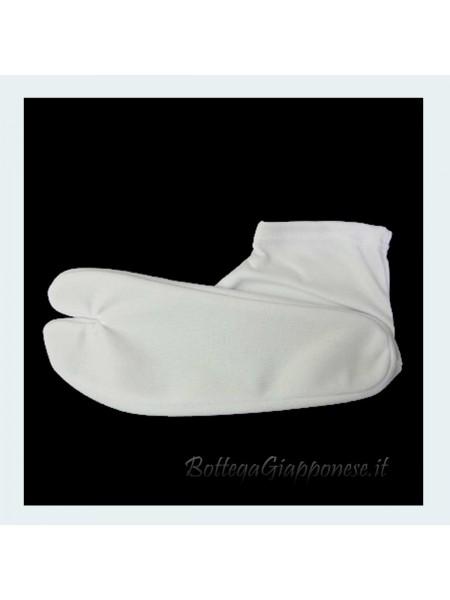 Shirotabi bianche elasticizzate