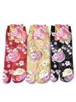 Tabi calze infradito disegno fiori sakura (tag. M) B