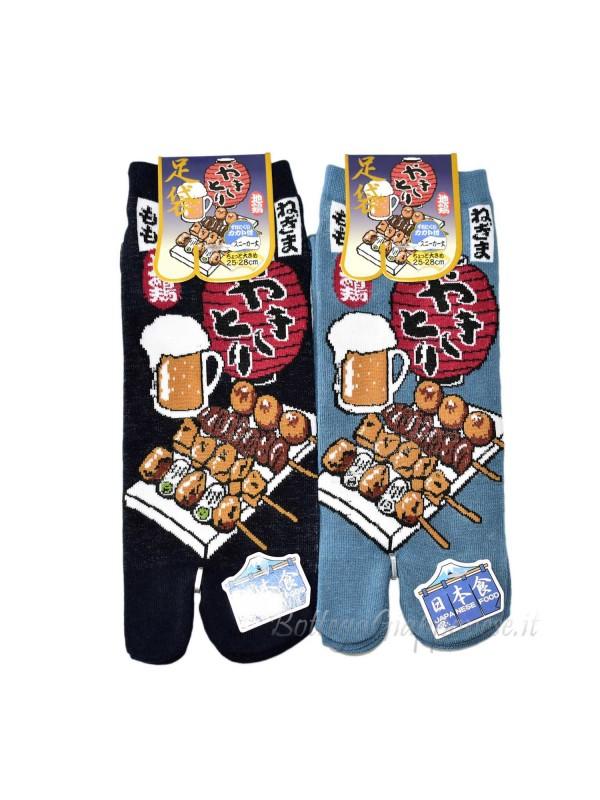 Tabi calze infradito disegno yakitori (tag.L) A
