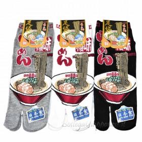 Tabi calze infradito disegno ramen  (tag.L) B