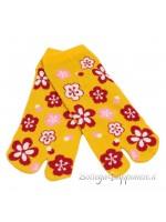 Tabi calze infradito giallo (tag.M) corto