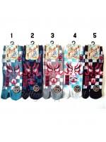 Tabi calze infradito disegno kabuki (tag.L)