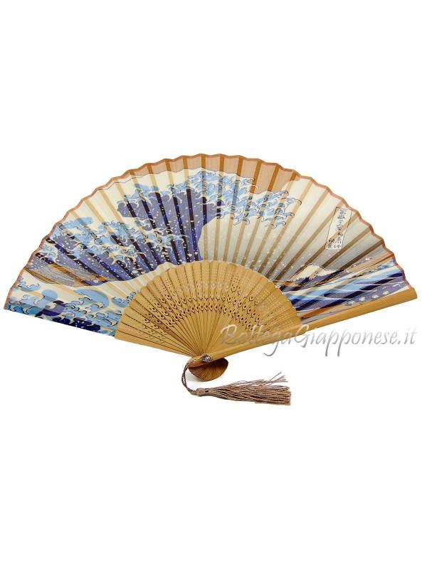 Sensu ventaglio grande onda giapponese