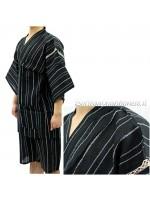 Jinbei completo giacca e pantaloncino nero(T)