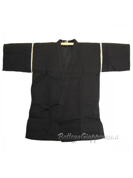 Jinbei giacca e pantalone corto nero (tag. XL)