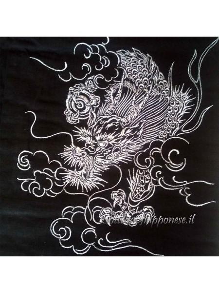 Yukata uomo dragone completo di cintura obi