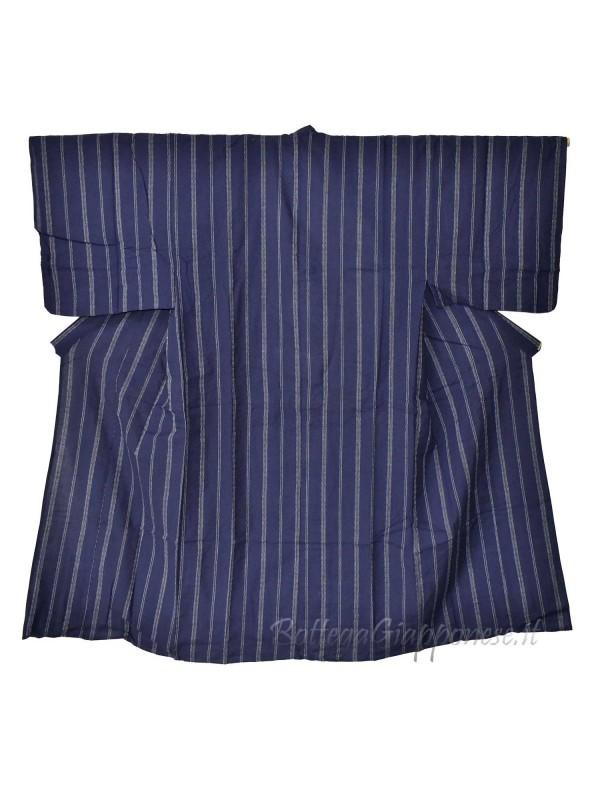 Yukata uomo blu con obi inclusa