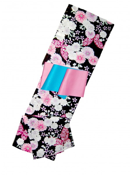 Yukata Yume abito giapponese set cintura inclusa