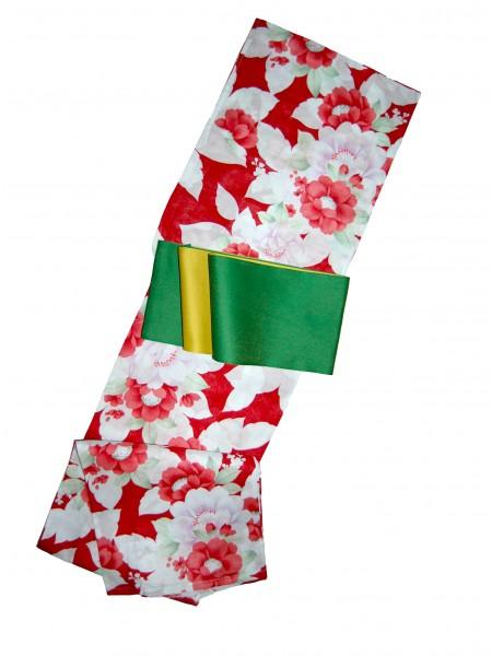 Yukata Hiroko abito giapponese set con cintura