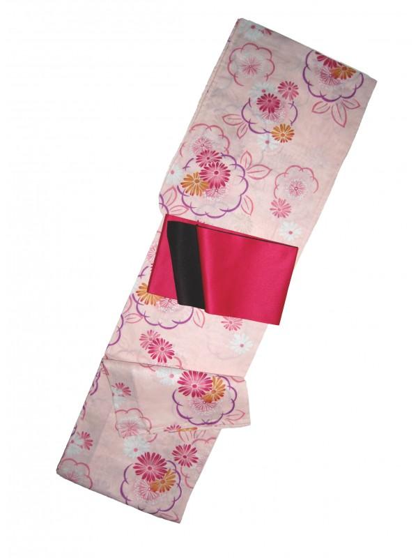 Yukata Maiko abito giapponese set con cintura inclusa