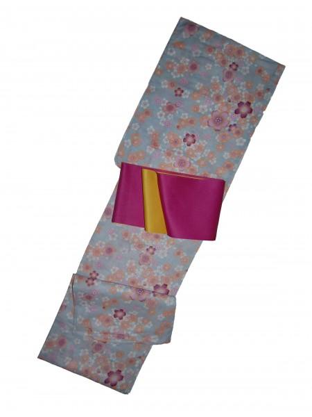 Yukata Kae abito giapponese set con cintura