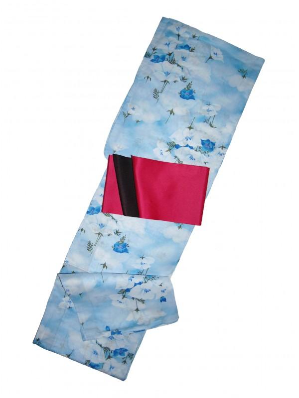 Yukata Mie abito giapponese set con cintura